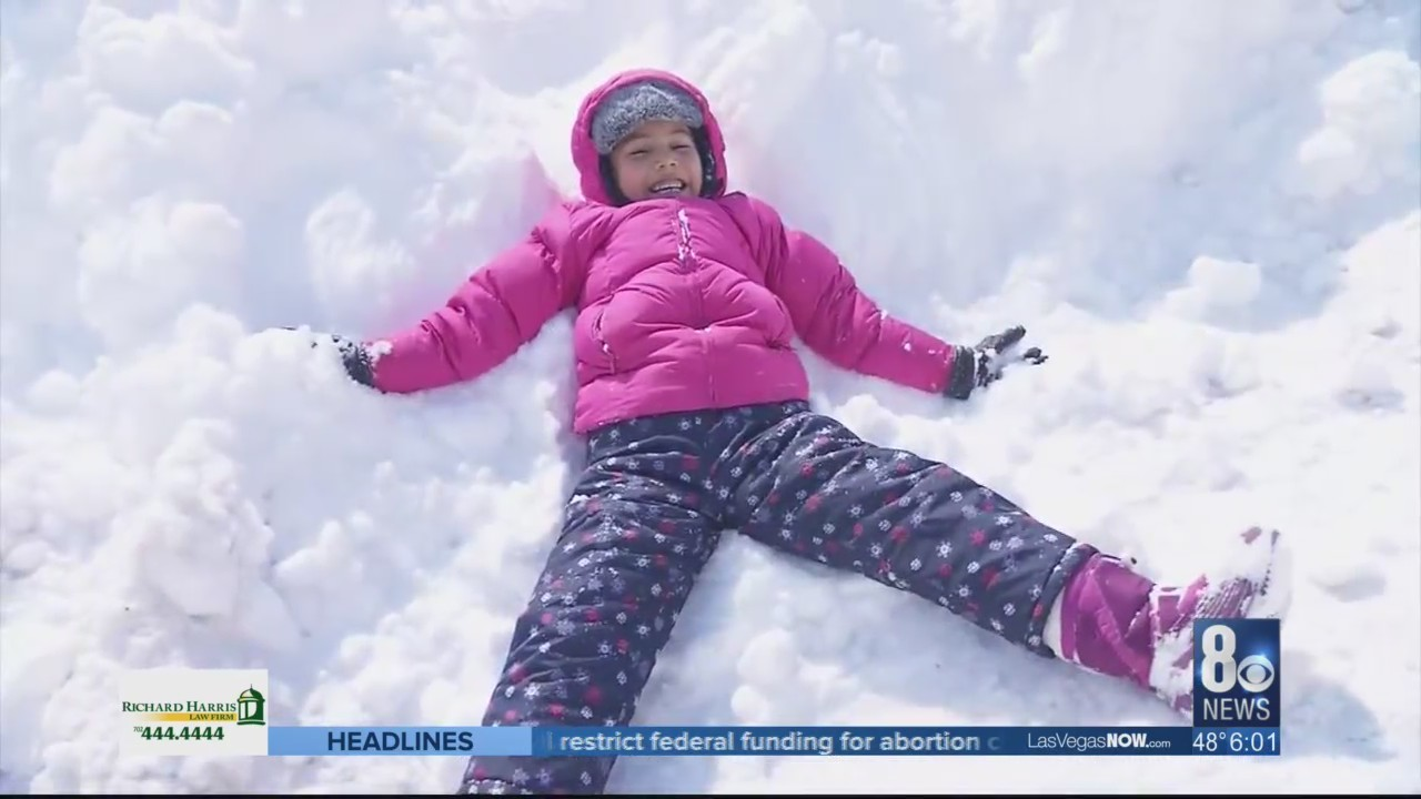 The saying, 'what a difference a day makes,' rang all too true in the Las Vegas valley Friday because one day after more than half a foot of snow fell in some parts of the valley, it all quickly vanished.