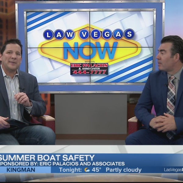 Attorney Eric Palacios discusses summer boat safety