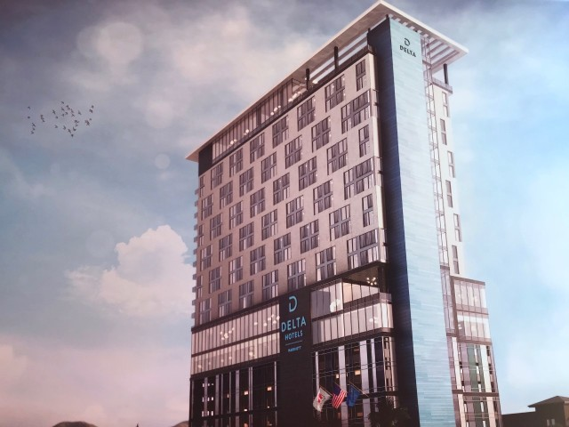 NEW DIGS: Delta Hotel by Marriott being built near the Strip