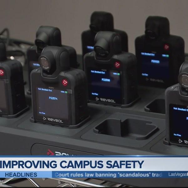 UNLV Police Body Cameras