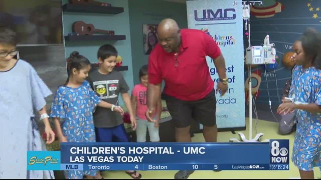 'Ickey Shuffle' putting smiles at UMC Children's Hospital