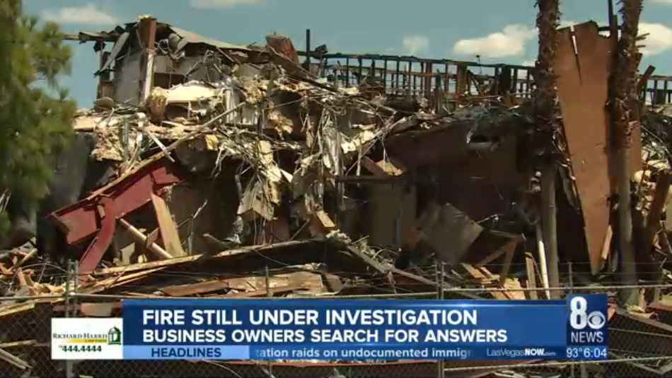 Business owners rebuilding, still looking for answers about what caused building fire