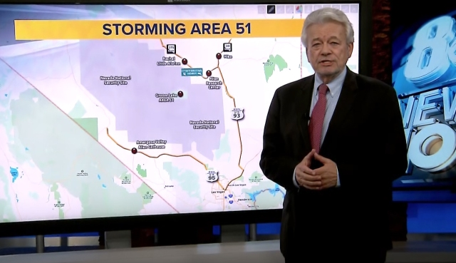 George Knapp maps out Area 51